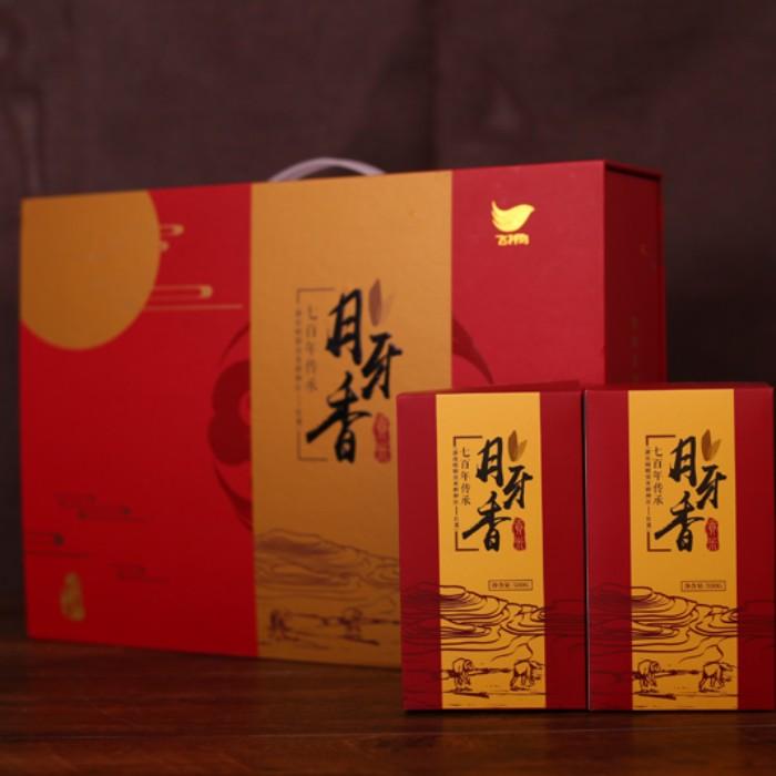 月牙香贡米盒装
